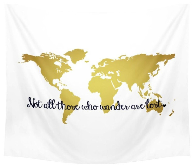Those Who Wander Are Lost Wall Tapestry