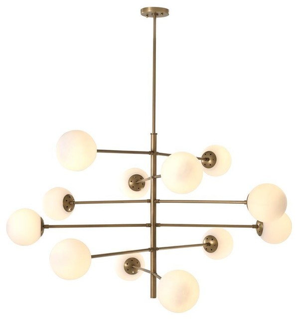 Brass Globe Chandelier Eichholtz Tortora Contemporary Chandeliers By Oroa European Luxury Furniture Houzz