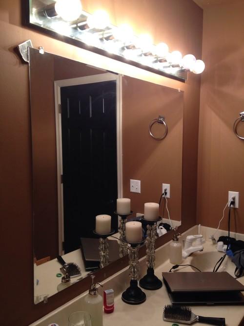 Updating S Vanity Light Fixture - Update bathroom light fixture