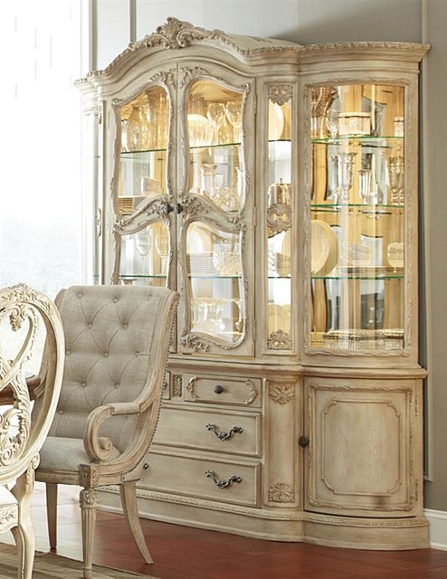 Rococo China Cabinet : victorian china cabinets and hutches from www.houzz.com size 494 x 640 jpeg 89kB
