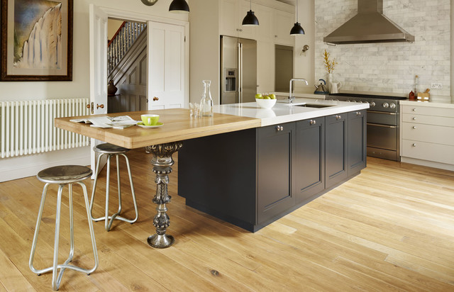 Architectural Salvage Bespoke Kitchen From Woodstock Furniture