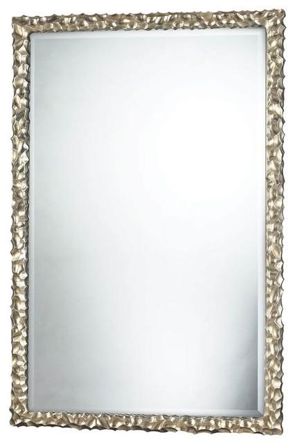 Emery Hill Mirror, Silver Leaf Finish.