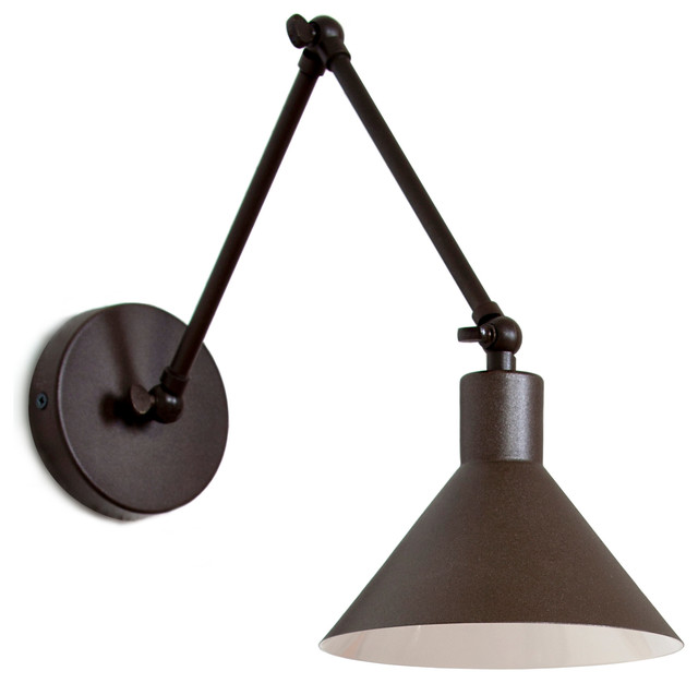 Contemporary Wall Lamps Swing Arms : LuxCambra Capuchina Wall Lamp - Swing Arm Wall Lamps Houzz