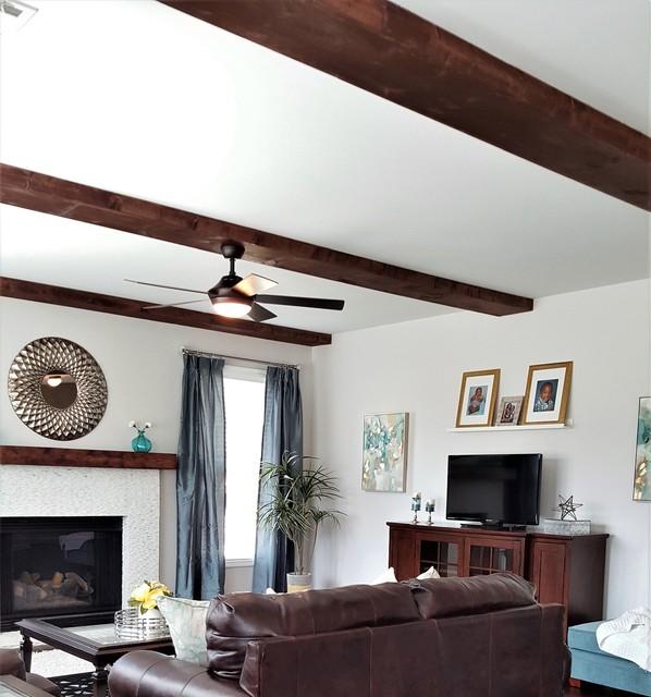 Rustic elegance living room for Rustic elegance interior design