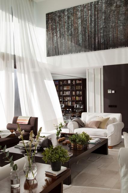 7 ideas para vestir las ventanas del salón