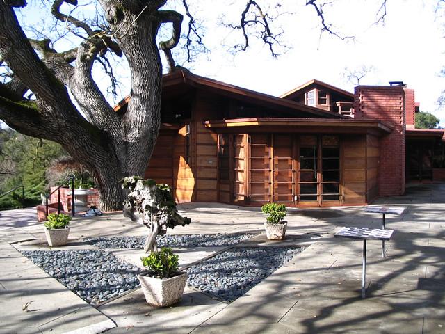 1936 Frank Lloyd Wright Hanna House San Francisco By