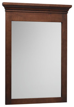 Ronbow Essentials Bryant 24x 33 Wood Framed Bathroom Mirror, White by Ronbow Corporation