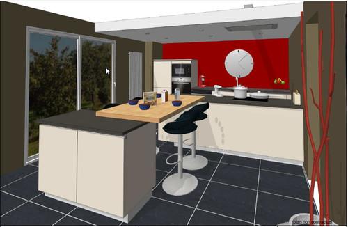 besoin d 39 aide pour le plan de notre cuisine. Black Bedroom Furniture Sets. Home Design Ideas