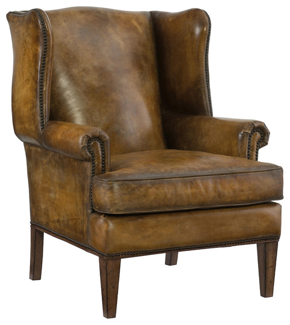 Hooker furniture living room bedford branston club chair for Traditional armchairs for living room