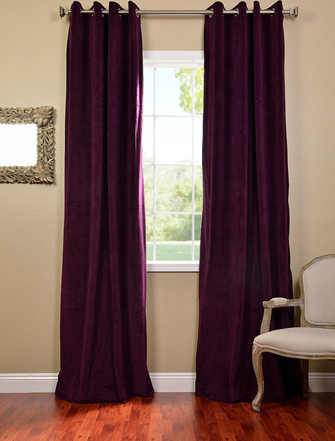 Curtains Ideas blackout panels for curtains : Velvet Blackout Curtains - Curtains Design Gallery