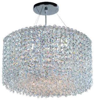 Allegri 11668 Millieu-Metro 6 Light Pendant.