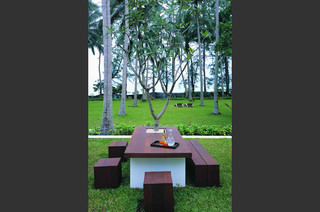 Baan Suriya Private Residence tropical patio