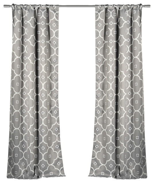 Lala Bash Ginger Room Darkening Curtains Mediterranean Curtains By Duck River Textile