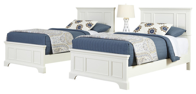 Naples 2 Beds And Nightstand Set, Twin