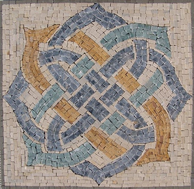 Roman Mosaic Accent Tile Mercia Traditional Tile