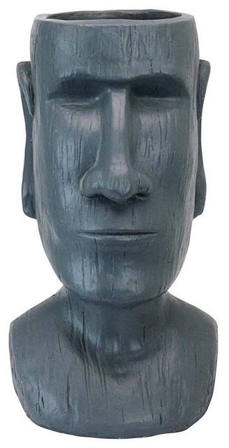 Easter Island Moai Planter Statue