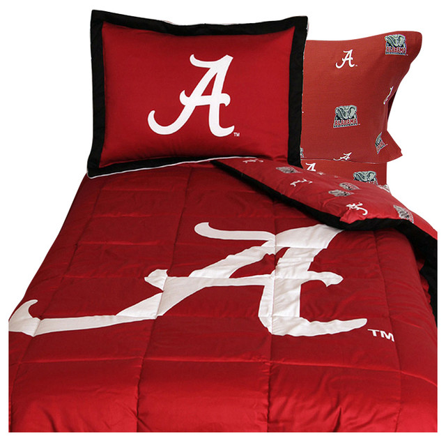 Ncaa Alabama Crimson Tide Bedding Red Collegiate Bed