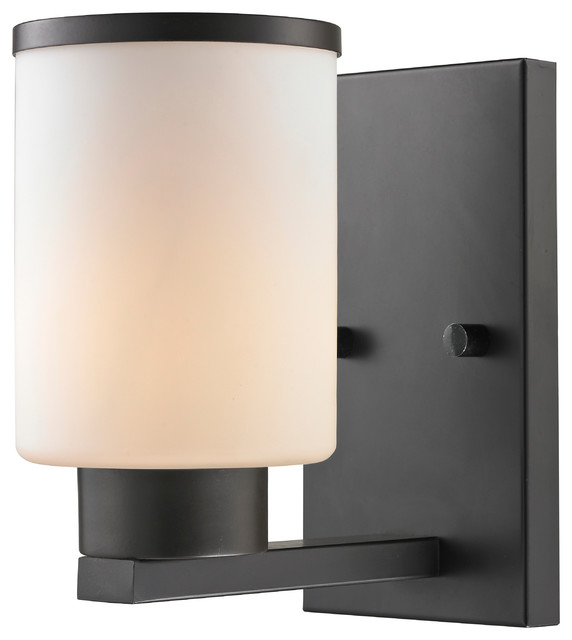 1 Light Vanity Transitional Bathroom Vanity Lighting By Z Lite
