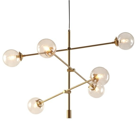 6-Light Industrial Style Pendant.