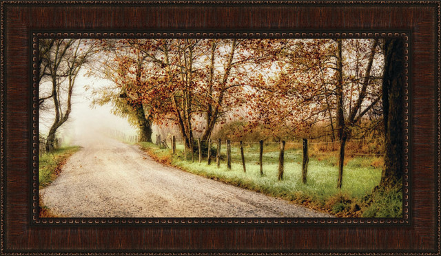 """fog Ahead"" By D. Burt, 44""x26""."