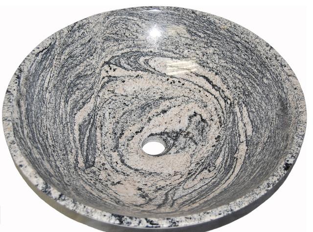 Mount Saint Helens Marble Vessel Sink.
