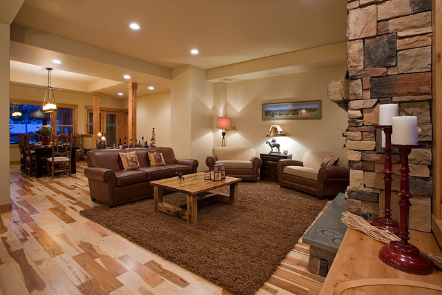 western ranch traditional living room portland by file tiny house interior portland jpg