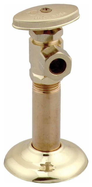 Fabulous Toilet Angle Stop Valve Pvd Brass 1 2 Fipx1 2Od Ocoug Best Dining Table And Chair Ideas Images Ocougorg
