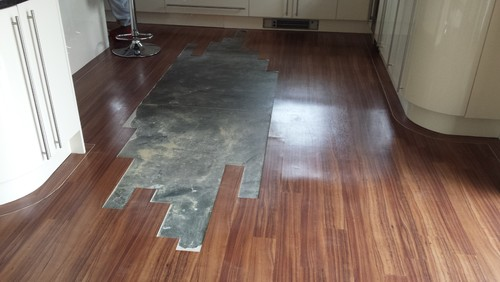 Hi, We Had Karndean Fitted In Our New Build 3 Years Ago, This Picture Shows  Just A Small Section Of Floor That Has Lifted, Now About Half The Kitchen  Area ...