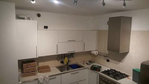 completamento cucina con cambio piastrelle... help me - Tubi Per Cappa Cucina