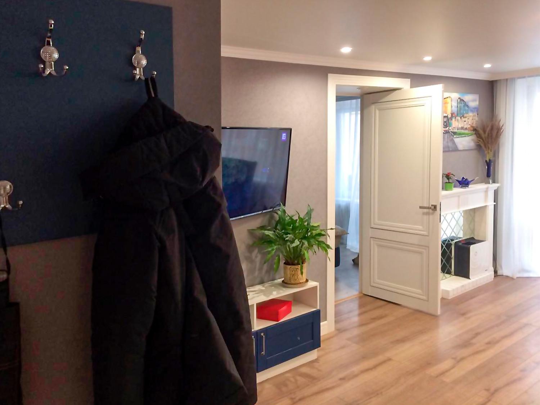Дизайн-проект квартиры в неоклассическом стиле, 2018Кухня