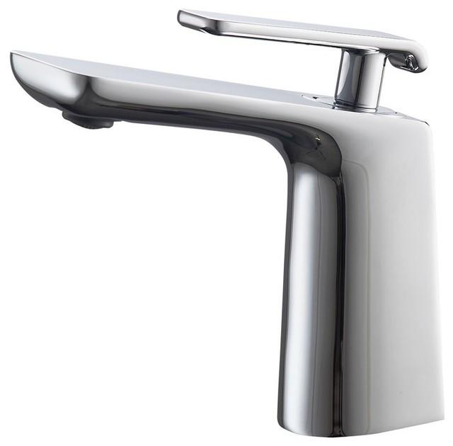 Aqua Adatto Single Lever Faucet - Contemporary - Bathroom Sink ...