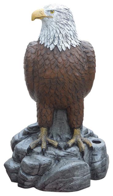 Svj Creative Designs Majestic Eagle Right Concrete