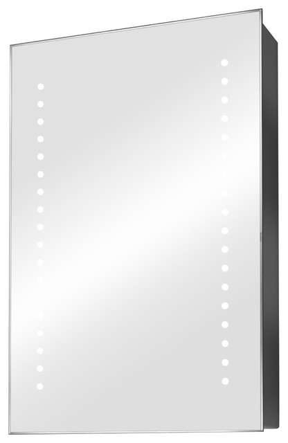 Demisting Led Mirrored Medicine Cabinet.