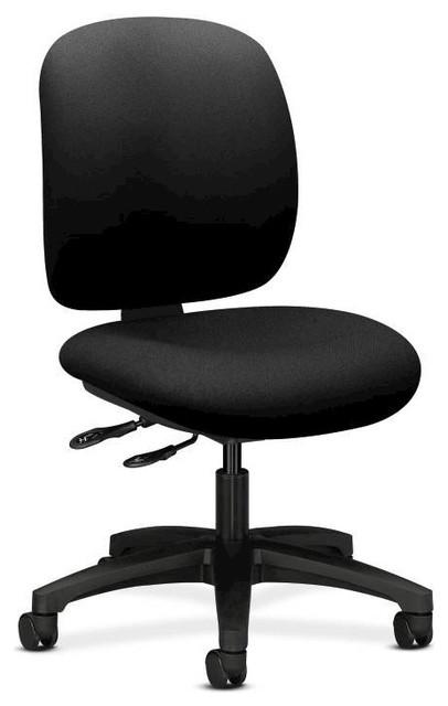 Hon Comfortask Chair, Multi, Task Control, Infinite Lock, Black Fabric.
