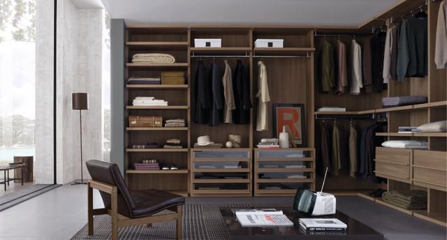 Millimetrica Walk In Wardrobes Contemporary Closet