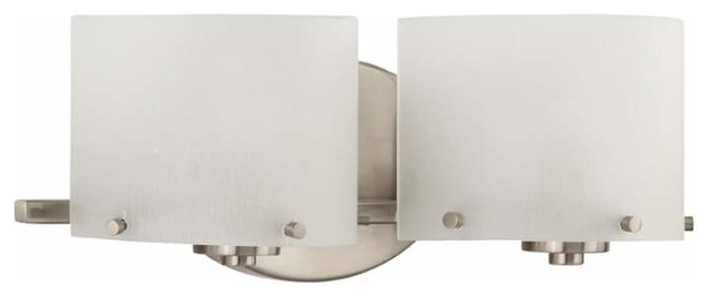 Park Harbor Phvl2072 Breccan 2 Light Bathroom Fixture Contemporary Bathroom Vanity Lighting