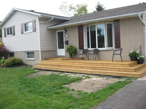 Examples Of Front Of House Landscaping : Ideas for landscaping front of house