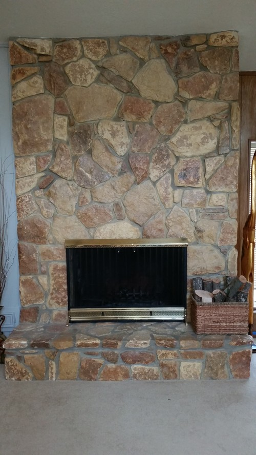 Any Advice On Paint Colors To Complement This Fireplace
