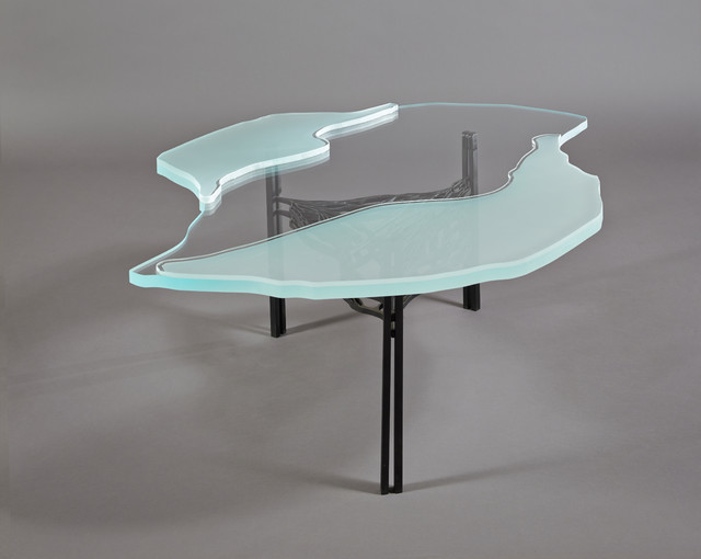 Sten Glass Tables Modern Coffee Tables Seattle By Finne Architects