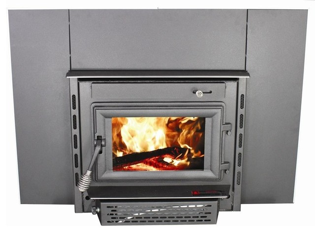 vogelzang colonial fireplace insert with blower indoor