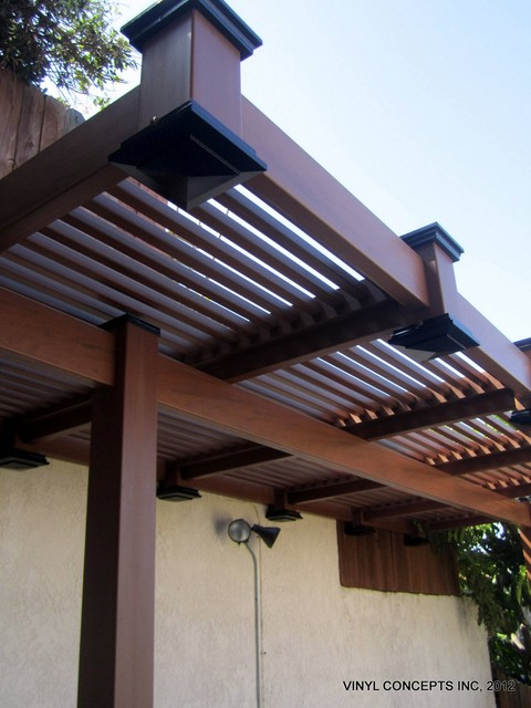 WALNUT VINYL (WOOD LOOK) FENCING,GATES,RAILING, PATIO COVERS, ETC