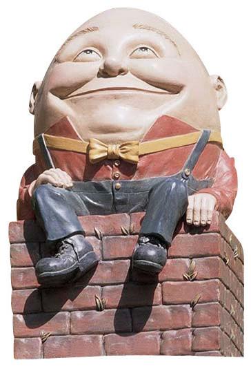 Design Toscano   Humpty Dumpty Statue   Garden Statues And Yard Art