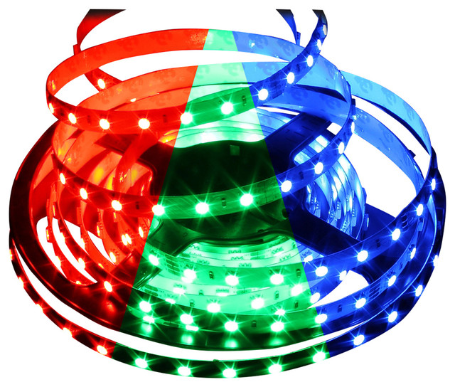 Shop Houzz | Solid Apollo LED Color Changing RGB 5050 72W LED Strip Light - Undercabinet Lighting
