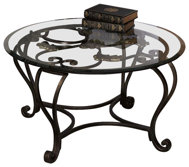 Shop Houzz Dh Accents Florence Coffee Table Coffee Tables