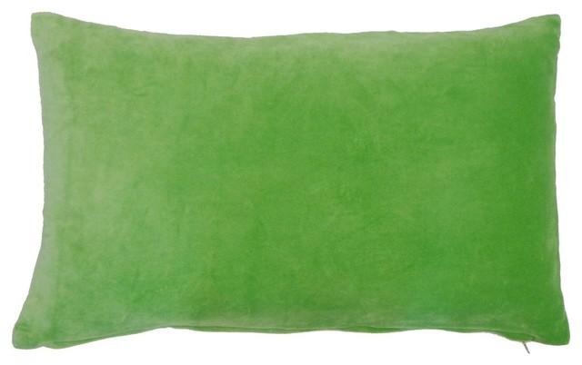 green velvet pillow. Small Green Velvet Pillow U