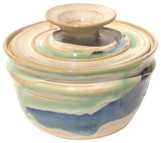 Coffee Filter Storage Jar Rio Grande Glaze