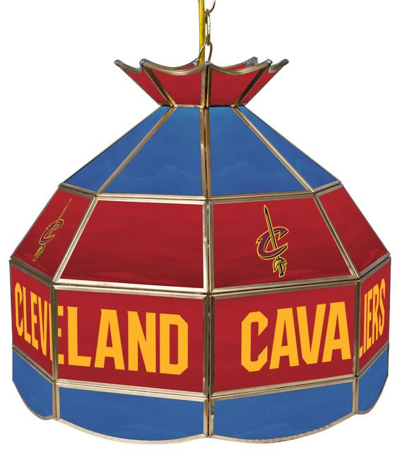 Nba Tiffany Gameroom Lamp 16 Quot Traditional Pool Table