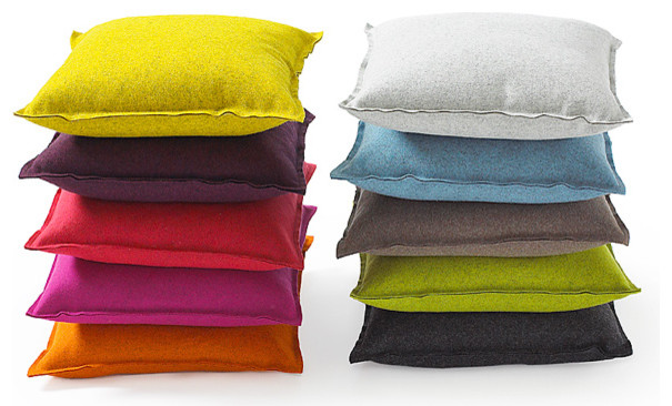 Wool Punch PIllow Modern Decorative Pillows by Fluf : modern decorative pillows from www.houzz.com size 605 x 366 jpeg 72kB