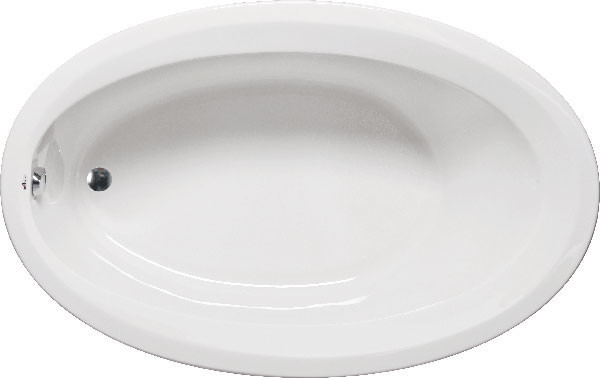 Catalina 6040 Ada, Builder Series, Bathtub, White.