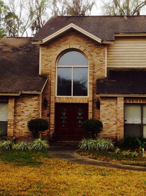Help 1980s Brick And Slanted Siding Home Needs Inexp